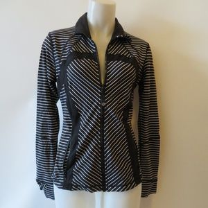 LULULEMON ATHLETIC LONG SLEEVE ZIP-UP JACKET 10 *